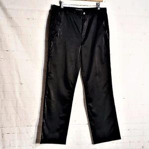 BANANA REPUBLIC SHINY BLACK PANTS 14